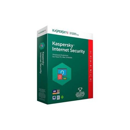 Kaspersky Internet Security 2018 Licenza 1 Dispositivo 1 Anno - Versione Full
