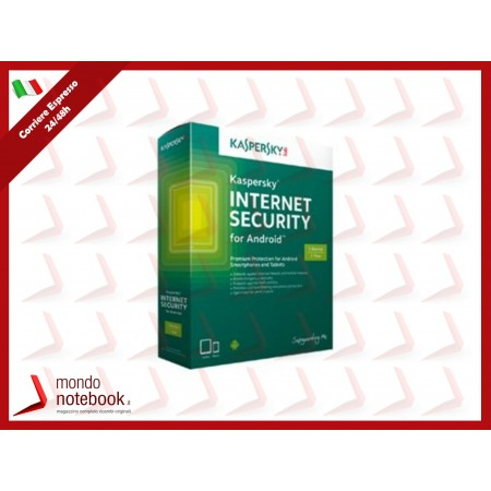 KASPERSKY INTERNET SECURITY PER ANDROID 1 USER BOX KL1091TBAFS-6