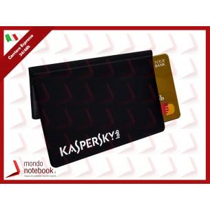 KASPERSKY PORTA CARTE DI CREDITO Protezione anti-frode RFID/NFD per 4 carte Contactless...