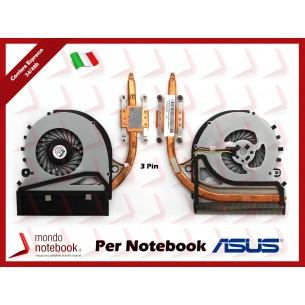 Dissipatore e Ventola Heatsink Fan CPU SONY VAIO SVF15 SVF152