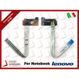 Board Tasto Accensione Power Button + Cavo Flat Lenovo B50-30 B40-70 B50-70