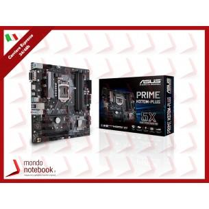MB ASUS PRIME H370M-PLUS LGA1151 (COFFEE LAKE) 4DDR4 VGA+HDMI+DVI 2*PCIe M2 mATX