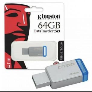PENDRIVE KINGSTON USB 3.0 64GB DATATRAVELER DT50