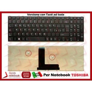 Tastiera Notebook TOSHIBA Satellite C50T-A C50-B C50D-B C55-B C55T-B R50-B (NERA)