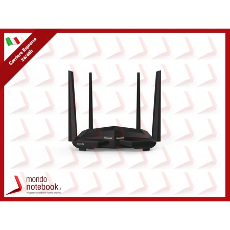 ROUTER TENDA AC1200 AC10 WIRELESS DUAL BAND 867Mbps a5GHz+300Mbps a2.4GHz 802.11ac, 1P...