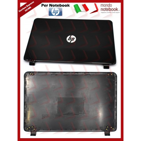 Cover LCD HP 15-G 15-R 245 G3, 250 G3, 250 G4, 255 G3, 256 G3 (NERO LUCIDO) Compatibile