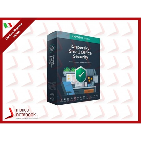 KASPERSKY SMALL OFFICE SECURITY 8.0 (2020) 1 Server + 5 client (5 DT + 5 MD)...