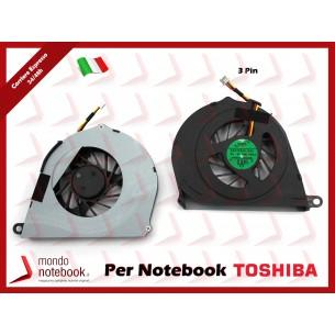 Ventola Fan CPU TOSHIBA TOSHIBA L750 L755 (Versione 1)