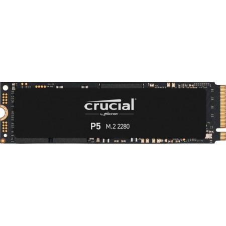 Crucial P5 500GB CT500P5SSD8 SSD Interno - 3400 MB/s (3D NAND, NVMe, PCIe, M.2, 2280SS)