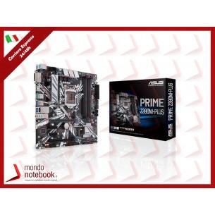 MB ASUS PRIME Z390M-PLUS LGA1151 (COFFEE LAKE) 4DDR4 HDMI+DVI 2*PCIe, Dual M2, mATX